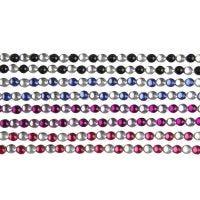 Strass adesivi, L: 15 cm, L: 4 mm, nero, blu, viola, rosso, 8 fgl./ 1 conf.
