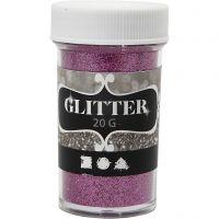 Glitter, rosa, 20 g/ 1 vasch.