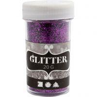 Glitter, viola, 20 g/ 1 vasch.