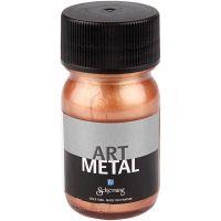 Vernice hobby metallizzata, rame, 30 ml/ 1 bott.