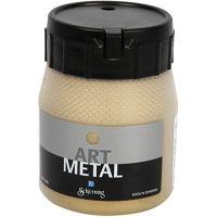 Vernice hobby metallizzata, oro chiaro, 250 ml/ 1 bott.