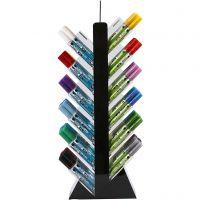 Penna per vetro e porcellana, H: 52 cm, P 11,5 cm, L: 24 cm, colori asst., 24x6 pz/ 1 conf.