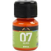 A-Color Glass , arancio, 30 ml/ 1 bott.