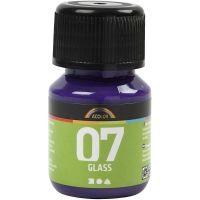A-Color Glass , rosso viola, 30 ml/ 1 bott.