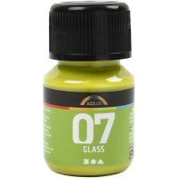 A-Color Glass , kiwi, 30 ml/ 1 bott.