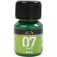 A-Color Glass , verde brillante, 30 ml/ 1 bott.