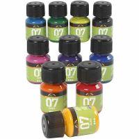 A-Color Glass , colori asst., 10x30 ml/ 1 conf.