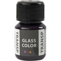 Colore trasparente per vetro, violetto, 30 ml/ 1 bott.