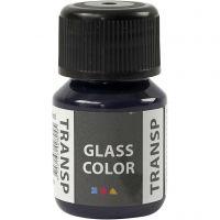 Colore trasparente per vetro, bu navy, 30 ml/ 1 bott.