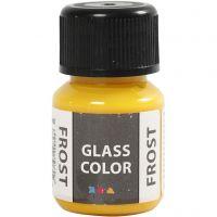 Colore satinato per vetro, giallo, 30 ml/ 1 bott.