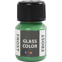 Colore satinato per vetro, verde, 30 ml/ 1 bott.