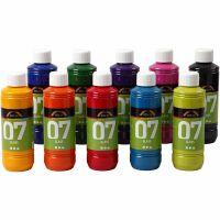 A-Color Glass , colori asst., 10x250 ml/ 1 scat.
