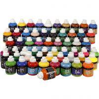 A-Color vernice acrilica, colori asst., 57x500 ml/ 1 conf.