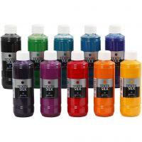 Textil Silk Paint, 10x250 ml/ 1 conf.