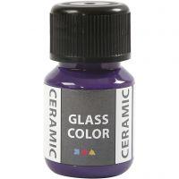 Pittura per vetro e ceramica, violetto, 35 ml/ 1 bott.