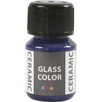 Pittura per vetro e ceramica, blu lavanda, 35 ml/ 1 bott.