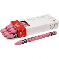 Neocolor I Pastelli, L: 10 cm, spess. 8 mm, pink (081), 10 pz/ 1 conf.