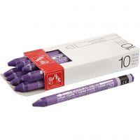 Neocolor II, L: 10 cm, violet (120), 10 pz/ 1 conf.
