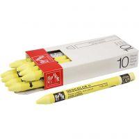Neocolor II, L: 10 cm, lemon yellow (240), 10 pz/ 1 conf.
