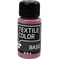 Colore per tessuti, rosato scuro, 50 ml/ 1 bott.