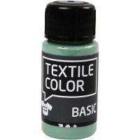 Colore per tessuti, verde acqua, 50 ml/ 1 bott.
