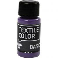 Colore per tessuti, lavanda, 50 ml/ 1 bott.