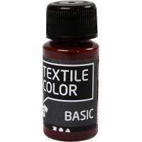 Colore per tessuti, marrone, 50 ml/ 1 bott.