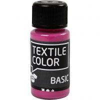 Colore per tessuti, rosa, 50 ml/ 1 bott.