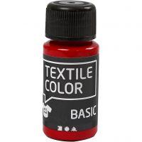 Colore per tessuti, rosso, 50 ml/ 1 bott.