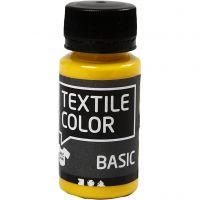 Colore per tessuti, giallo primario, 50 ml/ 1 bott.