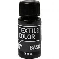 Colore per tessuti, nero, 50 ml/ 1 bott.