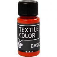 Colore per tessuti, arancio, 50 ml/ 1 bott.