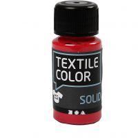 Base per tessuti, opaca, rosso, 50 ml/ 1 bott.