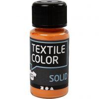Base per tessuti, opaca, arancio, 50 ml/ 1 bott.