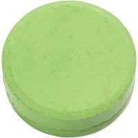 Acquerelli, H: 16 mm, diam: 44 mm, verde, 6 pz/ 1 conf.