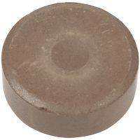 Acquerelli, H: 16 mm, diam: 44 mm, marrone, 6 pz/ 1 conf.