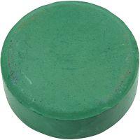 Acquerelli, H: 19 mm, diam: 57 mm, verde scuro, 6 pz/ 1 conf.