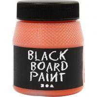 Pittura lavagna, arancio, 250 ml/ 1 conf.