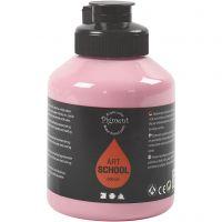 Pittura Pigment Art School, opaca, rosa pallido, 500 ml/ 1 bott.