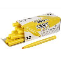 Pennarelli Visa Color, ampiezza tratto 3 mm, giallo, 12 pz/ 1 conf.