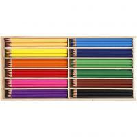 Matite colorate, mina 3 mm, colori asst., 144 pz/ 1 conf.