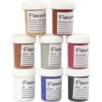 Pavercolor, 8x40 ml/ 1 conf.