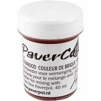 Pavercolor, terracotta, 40 ml/ 1 bott.