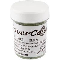 Pavercolor, verde, 40 ml/ 1 bott.