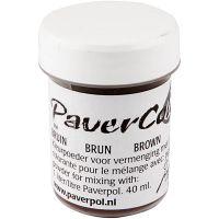Pavercolor, marrone, 40 ml/ 1 bott.