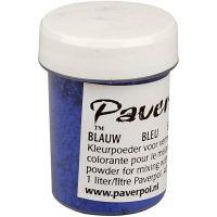 Pavercolor, blu, 40 ml/ 1 bott.