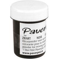 Pavercolor, nero, 40 ml/ 1 vasch.