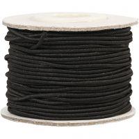 Corda elastica, spess. 1 mm, nero, 25 m/ 1 rot.