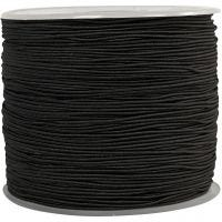 Corda elastica, spess. 1 mm, nero, 250 m/ 1 rot.