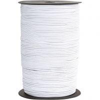 Corda elastica, spess. 2 mm, bianco, 250 m/ 1 rot.